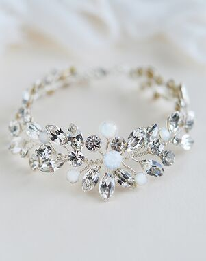 Dareth Colburn Lexie Floral Bracelet (JB-4863) Wedding Bracelet photo