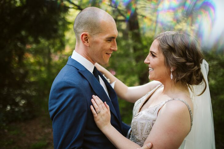 """MeganHickok and Ryan Teeter's wedding focused largely on nature, since """"both of us feel most at home in it,"""" the couple says. """"The vision began with"""