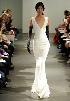 Vera Wang Spring 2014 Look 1 Sheath Wedding Dress