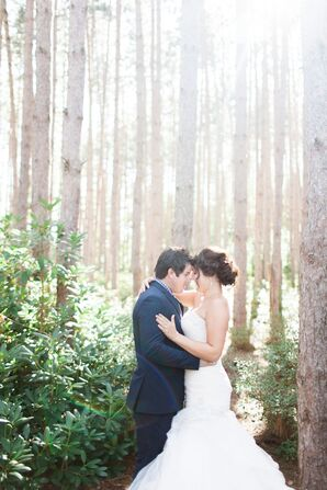 Vintage Glam Wedding in Saugatuck, Michigan