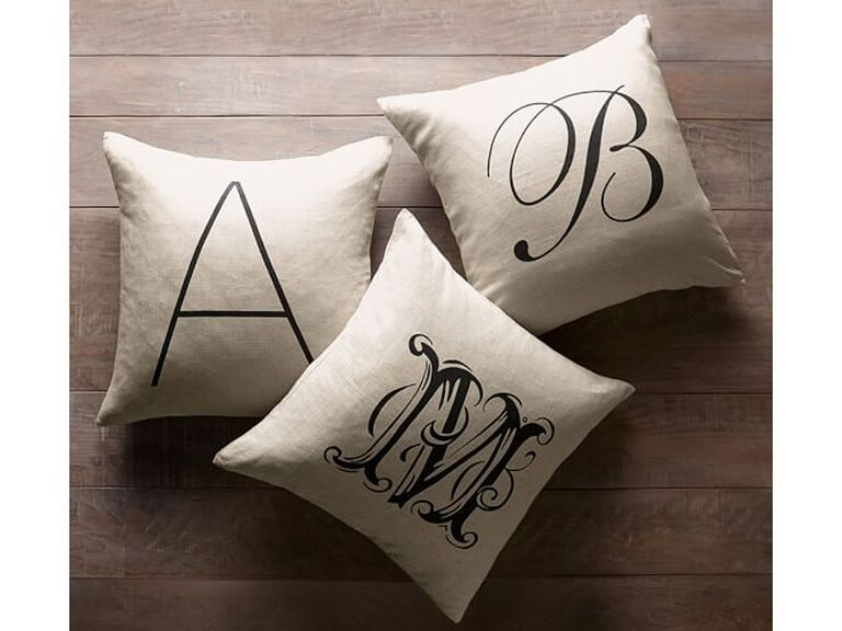 custom throw pillow gift