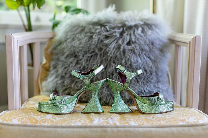 Eclectic, Vintage Green Heels