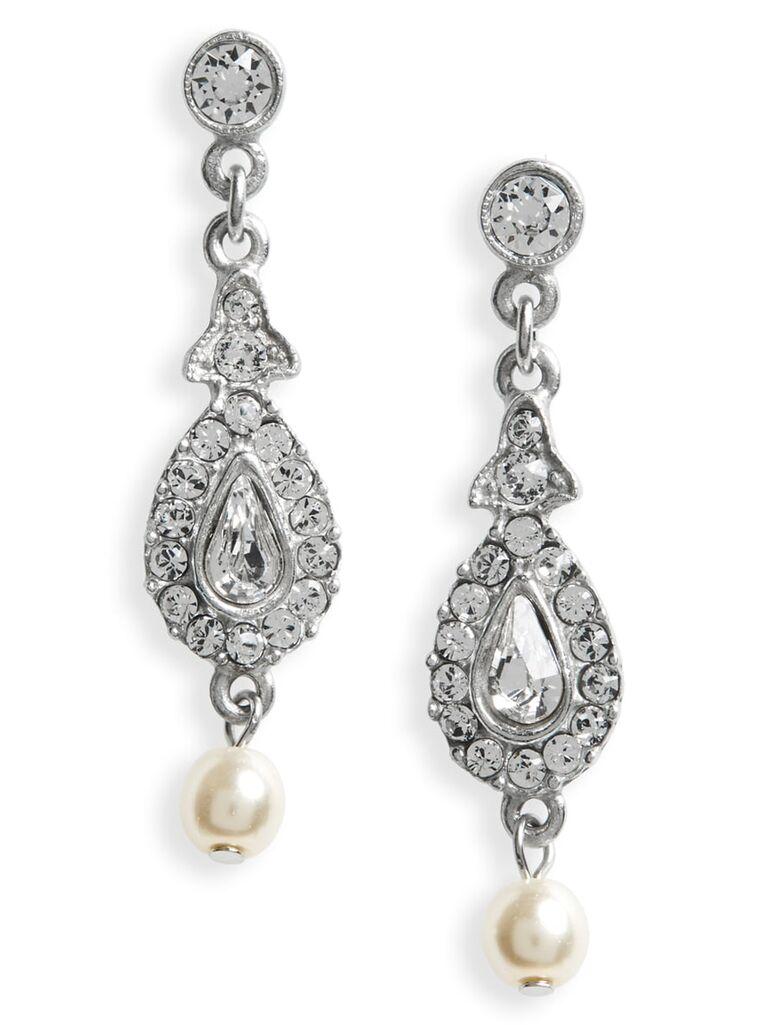 Crystal earrings 15-year anniversary gift