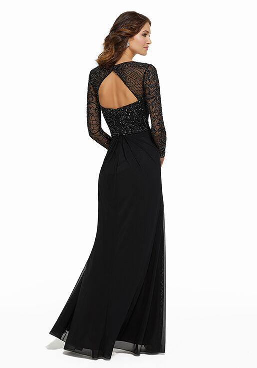 MGNY 72030 Black Mother Of The Bride Dress
