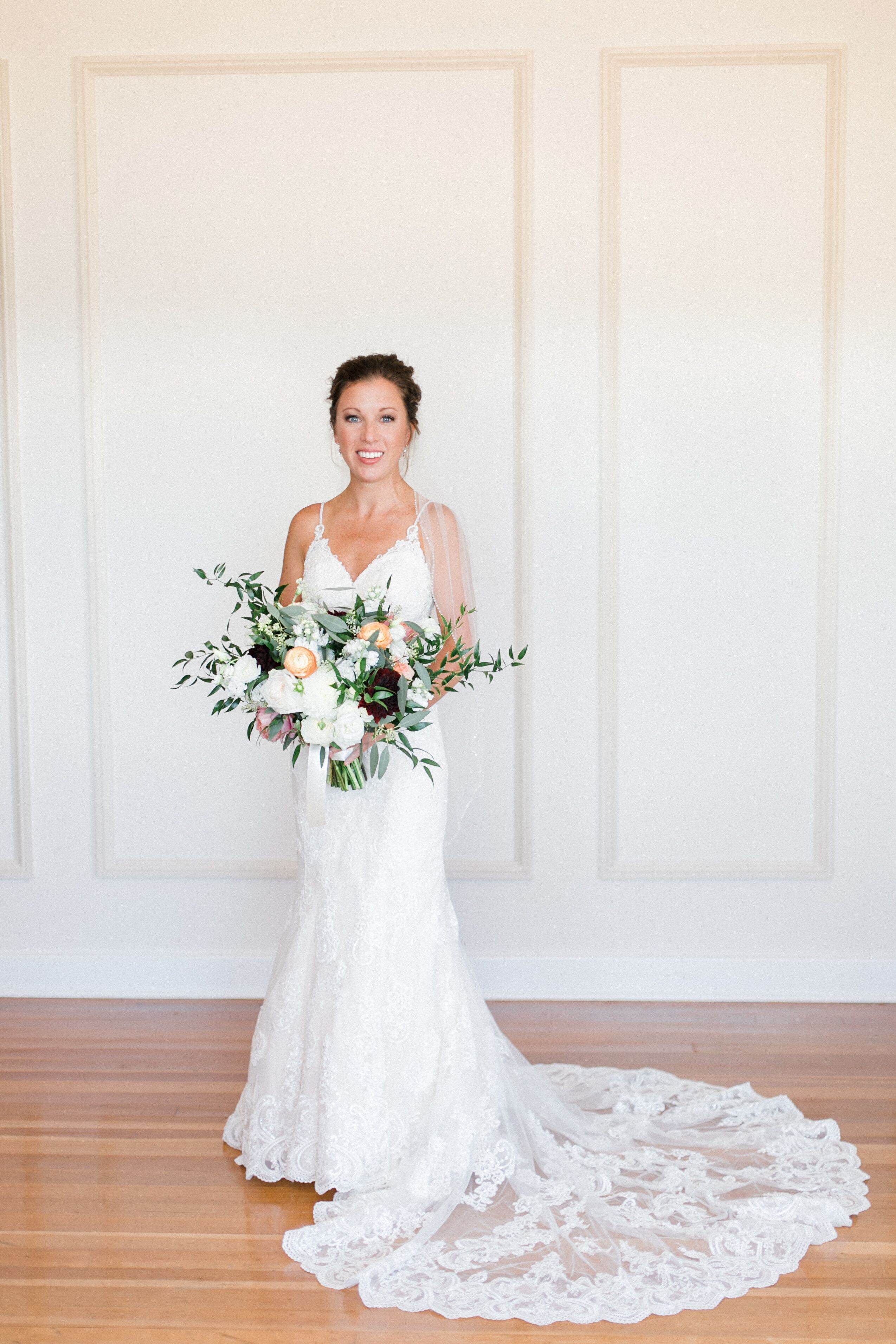 1ab9b72b3fe Ball Gown Halter Neck Chapel Train Organza   Beaded Lace Made-To-Measure  Wedding Dresses with Beading   Appliques   Side-Draped by LAN TING BRIDE®  59740 .