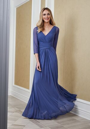 Jade Mother of the Bride by Jasmine J215053 Blue Mother Of The Bride Dress