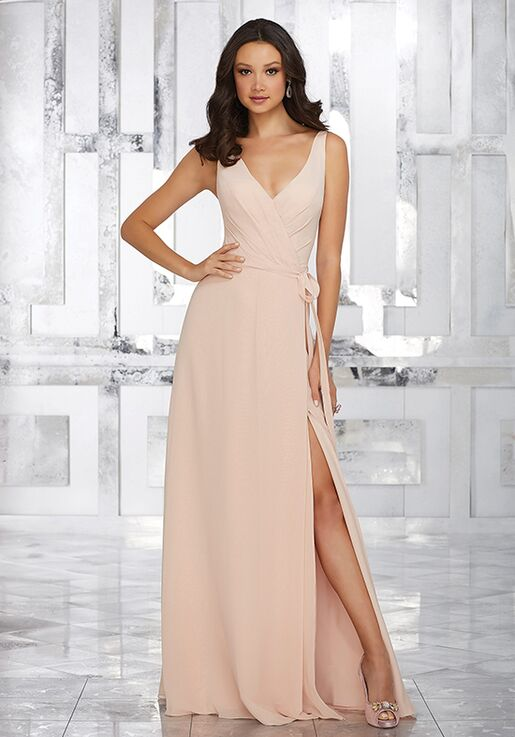 764f6a466e4 Morilee by Madeline Gardner Bridesmaids Style 21532 V-Neck Bridesmaid Dress