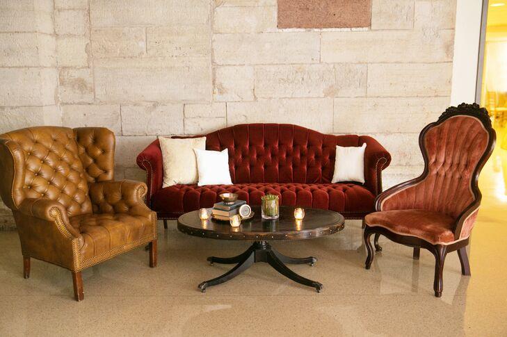 Elegant Vintage Cocktail Lounge