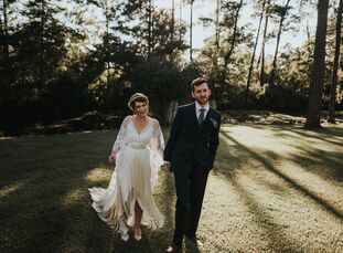 Inspired by their love for nature, Brooke Hesson (28 and an ecologist at Louisiana State University) and Paul Bacharach (28 and a facilities coordinat