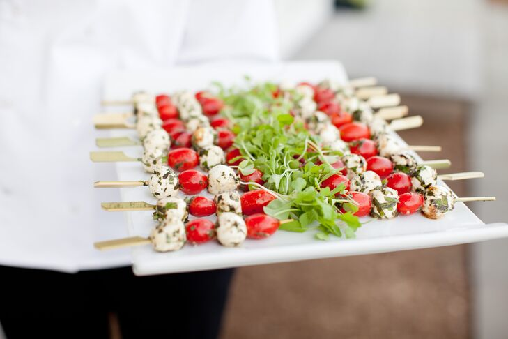 Cherry Tomato and Mozzarella Appetizers