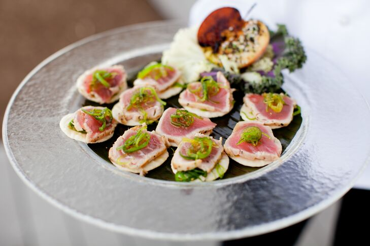Tuna Passed Appetizers