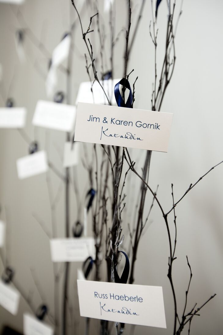 DIY Family Tree Escort Cards