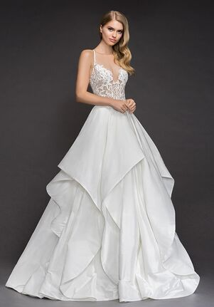 Blush by Hayley Paige 1804-Zuri Ball Gown Wedding Dress