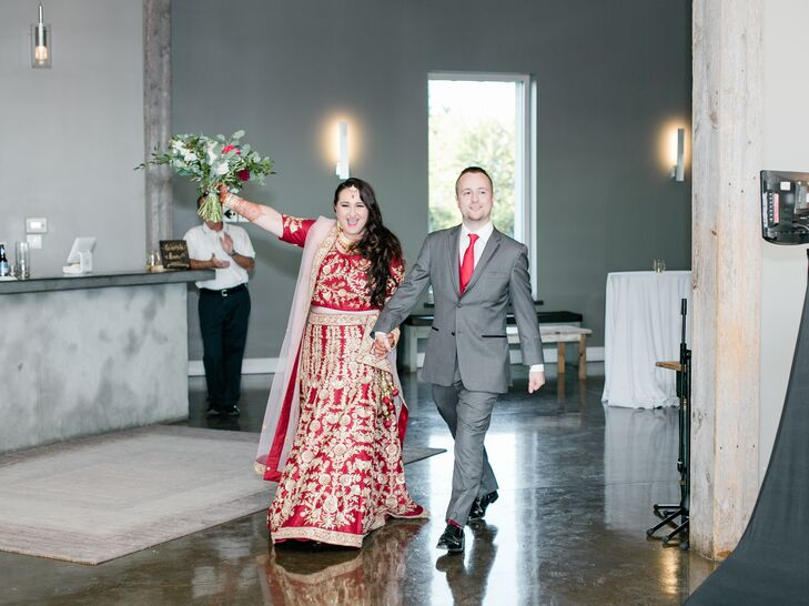 Traditional Red and Gold Bridal Lehenga