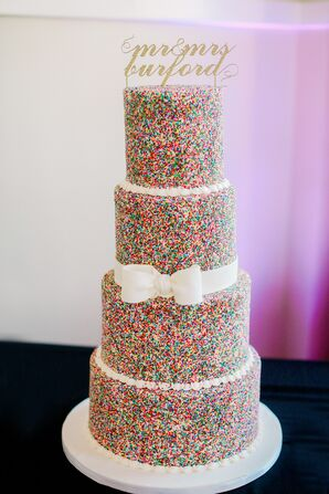 Kate Spade-Inspired Sprinkles Cake