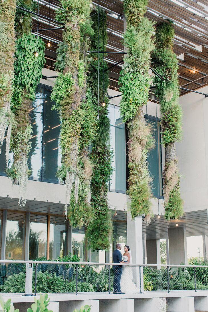 Greenery-Lined Perez Art Museum Miami Balcony