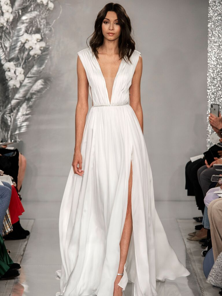 Theia Spring 2020 Bridal Collection empire waist wedding dress