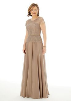 MGNY 72218 Champagne Mother Of The Bride Dress