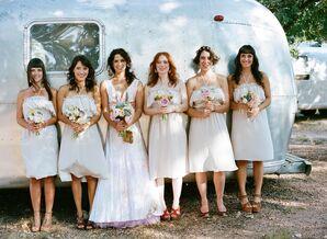 Short Casual Bridesmaid Dresses