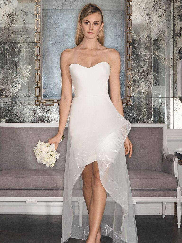 Romona Keveza Fall 2017 Collection: Bridal Fashion Week Photos