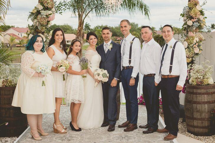 e06abe49a4e Knee-Length Ivory ModCloth Bridesmaid Dresses
