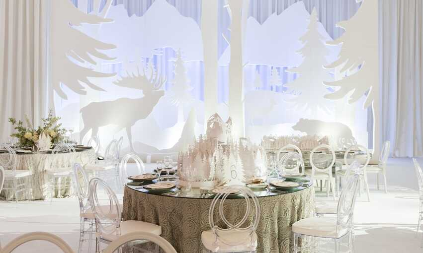 Great White North party themed inspiration and ideas