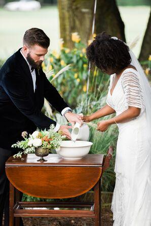 Symbolic Palm Washing Ceremony