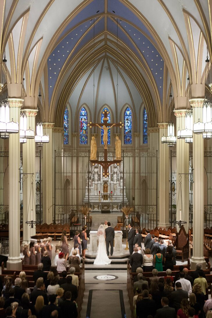St. John's Catholic Church Ceremony
