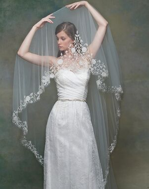 Blossom Veils & Accessories BV1552 Ivory Veil