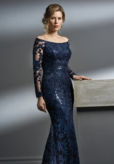 Jade Couture Mother of the Bride by Jasmine K198056 Blue Mother Of The Bride Dress
