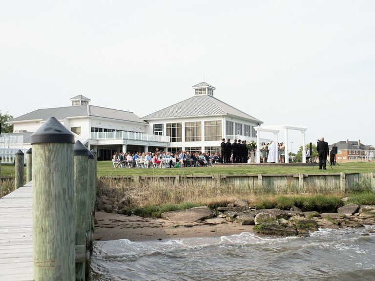 Rehoboth Beach Country Club Wedding Venue