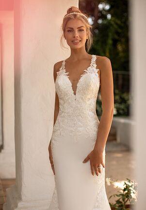 Moonlight Collection J6776 Mermaid Wedding Dress