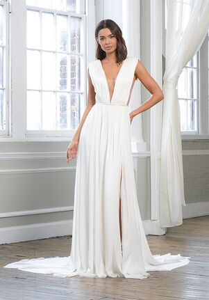 THEIA 890696 Sheath Wedding Dress