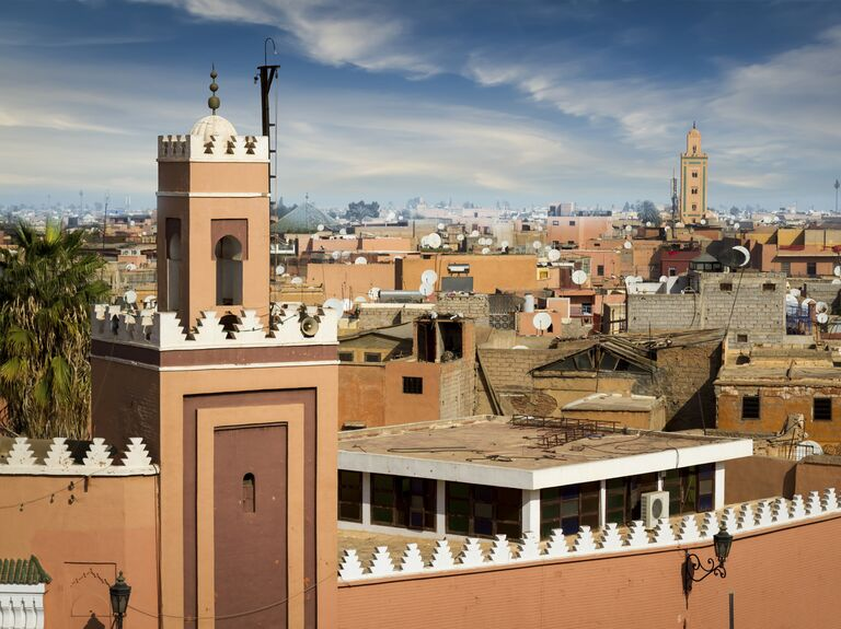 Exotic honeymoon Marrakesh, Morocco