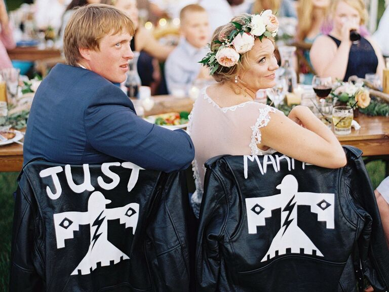 Just Married wedding jackets