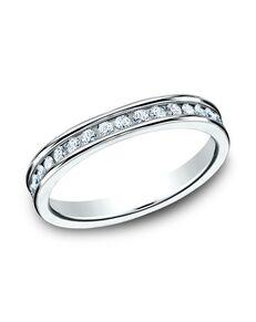 Benchmark 513550W White Gold Wedding Ring