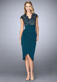 La Femme Evening 23124 Green Mother Of The Bride Dress