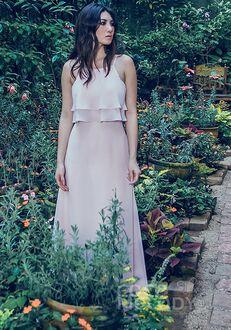 CocoMelody Bridesmaid Dresses PR3577 Square Bridesmaid Dress