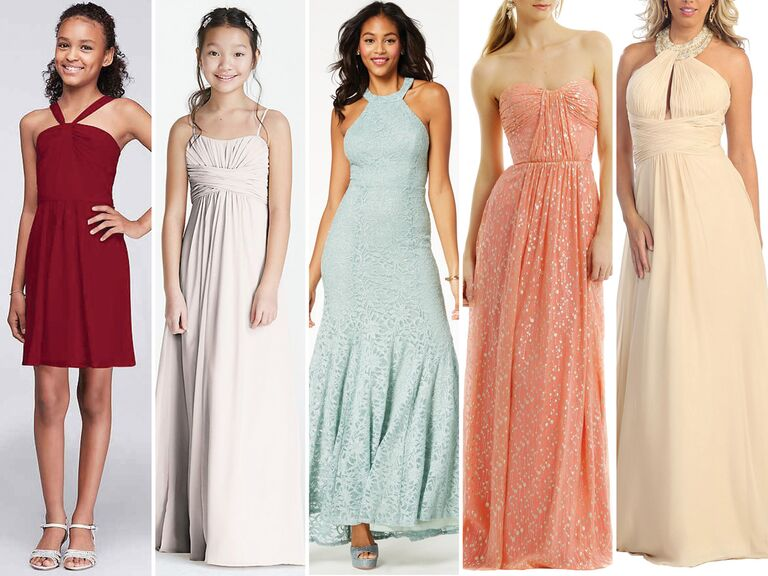 5 Junior Bridesmaid Dresses Under 100