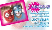 Las Vegas, NV Face Painting | AMAZING FACE PAINTING