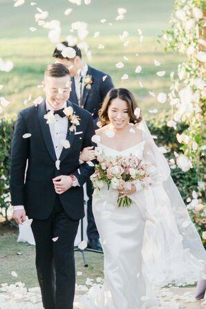 Wedding Recession at the Oak Creek Golf Club in Irvine, California