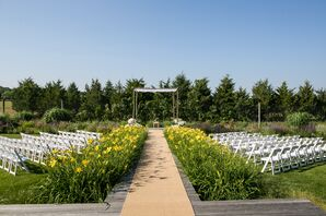 Outdoor Backyard Wedding Ceremony