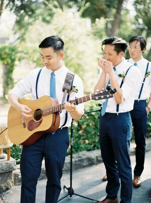 Live Music at Garden Wedding