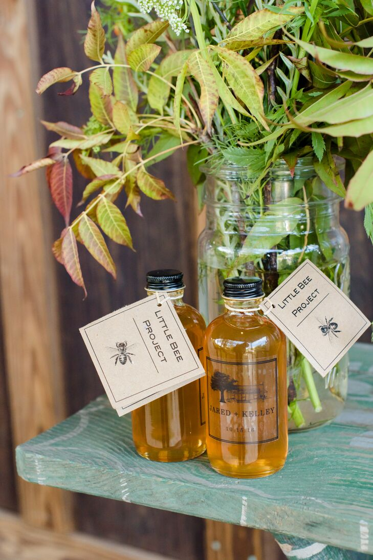 Personalized Honey Favors