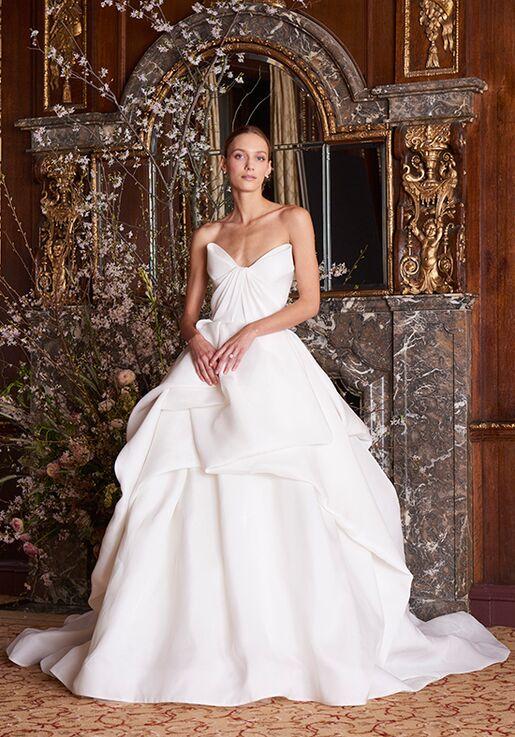 Monique Lhuillier Luna Ball Gown Wedding Dress