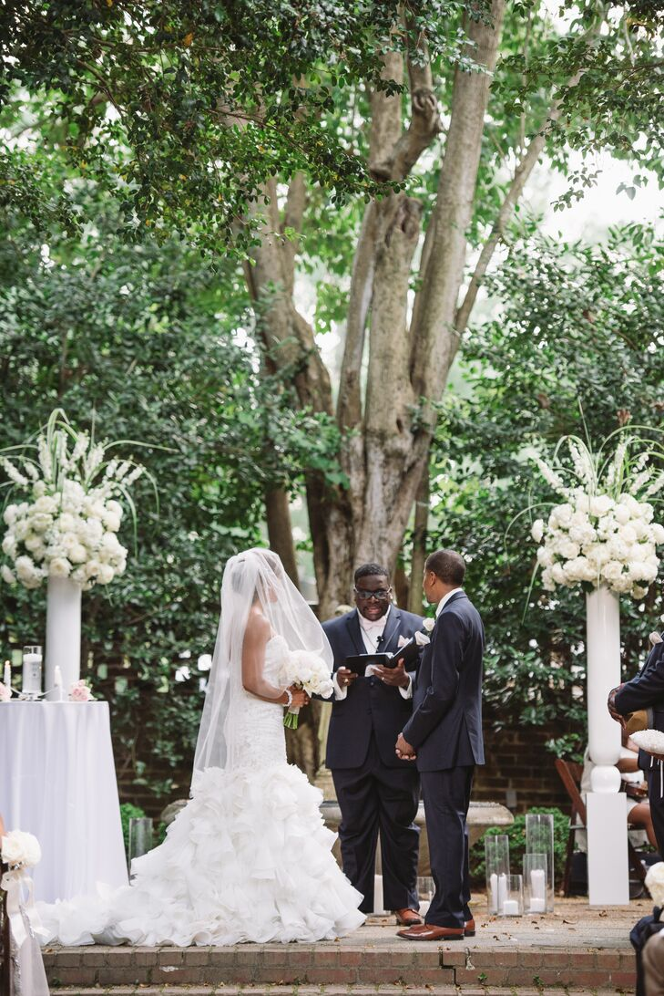 Ceremony at the South Carolina Governor's Mansion in Columbia, South Carolina