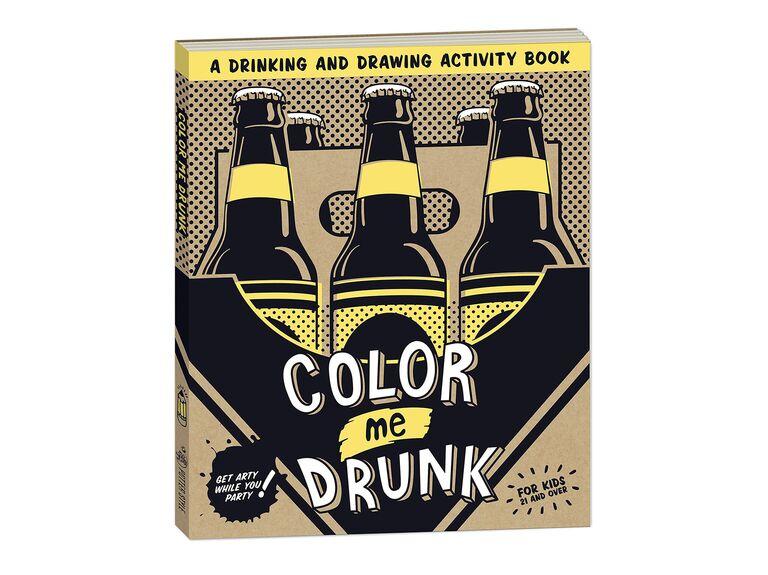 Color me drunk coloring book