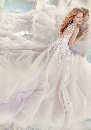 Hayley Paige 6604 Leah Ball Gown Wedding Dress