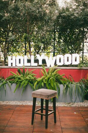 "Decorative ""Hollywood"" Sign"