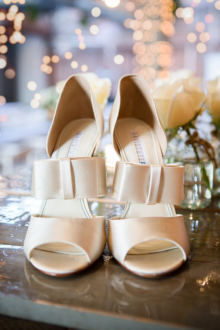 Champagne Colored David Tutera Shoes